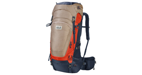 Jack Wolfskin Highland Trail 42 Backpack gravel